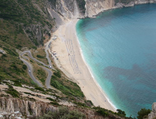 Myrtos Beach, See why some call it the best beach in The Ionian Sea