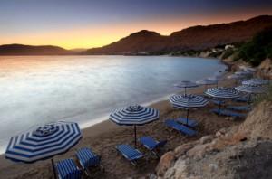 Mediterranean Sunset at Pefkos