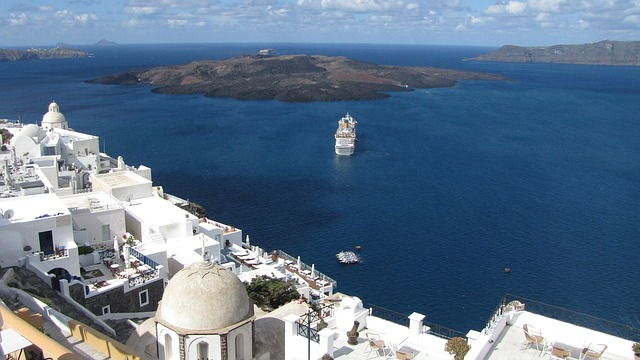 santorini volcano greece romance